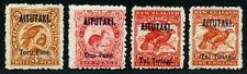 Aitutaki 1903 Freimarken Vögel Birds 4-6 SG 5-7 Mint Ungebraucht / 365
