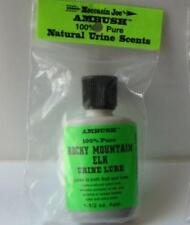 Moccasin Joe Ambush 100% Pure Natural Rocky Mountain Elk Urine Lure Scent NEW