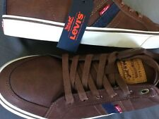 Levi's Men's Casual  Athletic Shoes Cypruss Burnish Brown/Navy Size 9.5 NEW