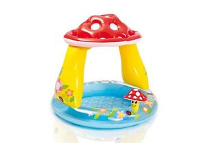INTEX Babypool Planschbecken Mushroom Kinderpool Schwimmbad Swimmingpool 57114