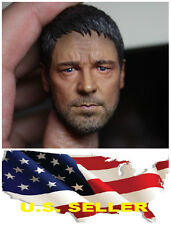 Gladiator Russell Ira Crowe 1/6 Head Sculpt for Hot Toys Enterbay Body Us seller