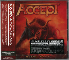 ACCEPT-BLIND RAGE-JAPAN CD F56