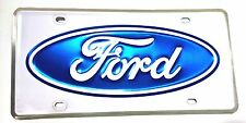 LICENSE PLATE FORD OVAL