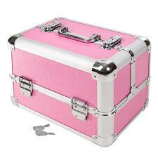 Kosmetikkoffer Beauty Case Schminkkoffer Friseurkoffer Schmuckkoffer pink