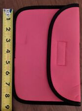 "8"" soft pink pouch for tablet or other devices"
