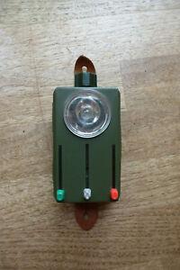 Taschenlampe BUND Bundeswehr Militär, oliv, gebraucht, Grün-, Tarn- und Rotlicht