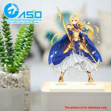 Anime Sword Art Online alicization Alice Figura de Soporte de Acrílico modelo de la exhibición Regalo