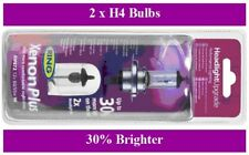 H4 Ring Xenon Plus Headlight Bulbs x 2 Fit Mazda 2 121 323 626 B & E Series MX-5