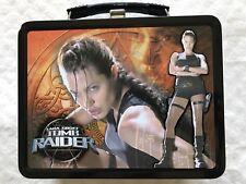 Angelina Jolie Ltd Ed 2001 Lara Croft: Tomb Raider Movie Lunch Box#2 w/thermos