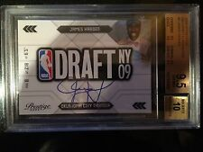 2009-10 PRESTIGE NBA DRAFT CLASS AUTOGRAPHS JAMES HARDEN GEM MINT 9.5 -MVP $$$ $