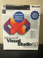 Microsoft Visual Studio 6.0 Professional Edition (1995 Microsoft)