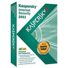 Kaspersky Lab Internet Security 2011 - 3 PC/ 1 Year - Sealed