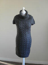 Womens knitted jumper dress by Amisu, size 8, cowl neck, brand new