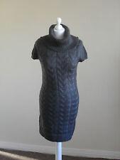 Vestido de punto para mujer por Amisu, Talla 8, Capucha Cuello, A ESTRENAR