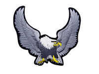 Flying Eagle Rückenaufnäher braun 28x27 cm Adler Weißkopfseeadler Back Patch