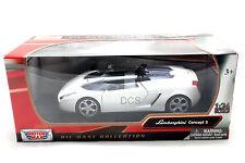 MotorMax LAMBORGHINI CONCEPT S WHITE 1/24 Diecast Car 73365