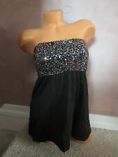 VICTORIA`S SECRET!!! NEW!! VERY SEXY SEQUIN TUBE TOP SZ:XS