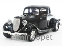 MOTORMAX 73217 1934 34 FORD COUPE 1/24 DIECAST BLACK