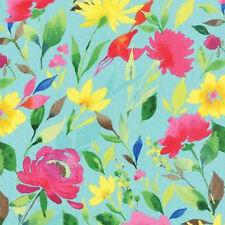 Moda Stephanie Ryan Fleurologie Floral Watercolor Blossom Fabric Whisper 7191-13