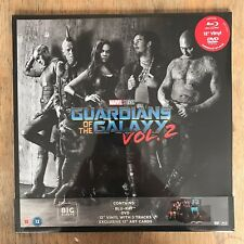 GUARDIANS OF THE GALAXY VOL. 2 BIG SLEEVE LIMITED EDITION DVD BLU-RAY VINYL LP