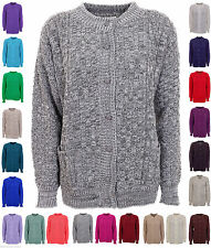 Unbranded Button Long Sleeve Jumpers & Cardigans for Women