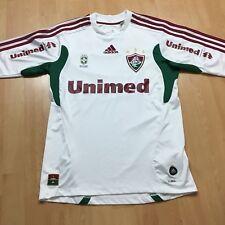 Fluminense Brazil Goalkeeper Shirt Long Sleeve Adidas Unimed White 32/34 XS