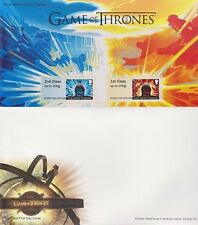 GB Royal Mail. 2018 Game of Thrones.  1st & 2nd class Post & Go stamps, 6 Scans.