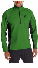 NWT Mens Green  Spyder Outbound mid weight core Stryke Sweater Size Large