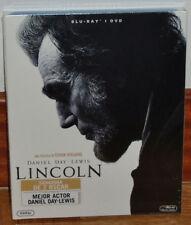 LINCOLN COMBO BLU-RAY+DVD NUEVO PRECINTADO HISTORICO BIOGRAFICO (SIN ABRIR) R2