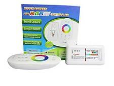 DC 12v rgbw rvb + w LED Contrôleur 2.4ghz + rf touch remote télécommande stripe