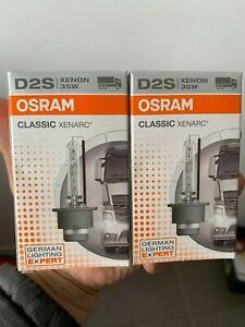 OSRAM D2S 66240 Spotlight Bulb *2