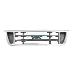 Grille Chrome Platinum Fits 2003-2007 Ford E-150 E-250 Super Duty FO1200428