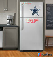 New NFL Dallas Cowboys 3-D Foam Magnet Home Office Bar Decor - Made in USA