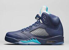 2015 Nike Air Jordan 5 V Retro Pre Grape Size 11.5. 136027-405 1 2 3 4 6 navy