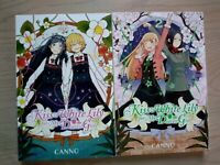 Kiss & White Lily for My Dearest Girl 1-2, Lot of 2 Seinen Manga, English, 13+