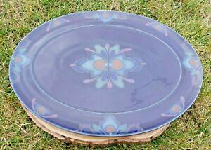 Denby Baroque Handcrafted Oval Serving Platter.