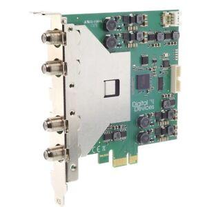 Digital Devices Max S8X Basic TV Karte PCIe DVB-S2/DVB-S2X Full Spectrum