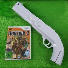 wii NORTH AMERICAN HUNTING EXTRAVAGANZA 2 + PRO SHOTGUN SAWN OFF BLUNDERBUSS Gun