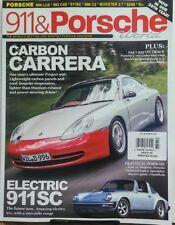 911 & Porsche World UK Aug 2017 Carbon Carrera Electric 911SC FREE SHIPPING sb