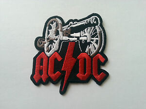 AC/DC Sew or Iron On Patch