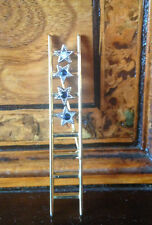 Vintage Ladder and Stars Brooch Spilla Scala e Stelle
