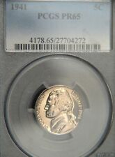 1941 Jefferson Nickel  PCGS PR65 (C9256)