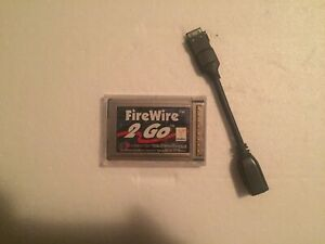 FireWire 2 Go Cardbus Card for Powerbook G3 Series NewerTech - FREE SHIPPING!!!