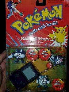 TOMY Pokemon Figurine with Pokeball Blaster 5 Pieces.USA SHIPPER.