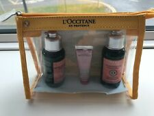 BRAND NEW L'OCCITANE GIFT SET SHAMPOO ~ CONDITIONER ~HAND CREAM ~ MAKE UP BAG