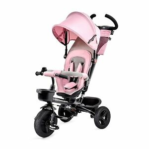Kinderkraft Dreirad AVEO Jogger Klappbar Buggy Gummiräder Rosa