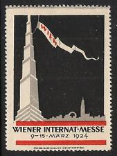 1924 Wiener Austria International Fair