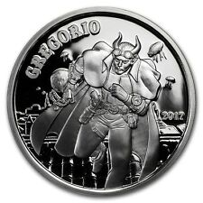 2017 Angels & Demons Steampunk Collection - Gregorio - 1oz 999 Fine Silver