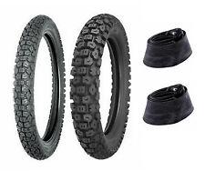 Shinko 3.00-21 & 4.60-17 244 Tires & Tubes Honda XL250R,XL350R & Kawasaki KLR250
