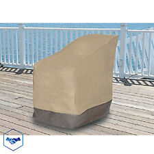 outdoor patio chair cover waterproof vinyl garden furniture single covers - Patio Chair Covers